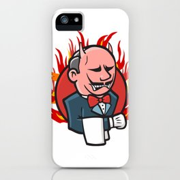 Jenkins on Fire iPhone Case