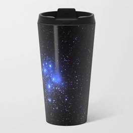 the Pleiades or Seven Sisters in Taurus Travel Mug