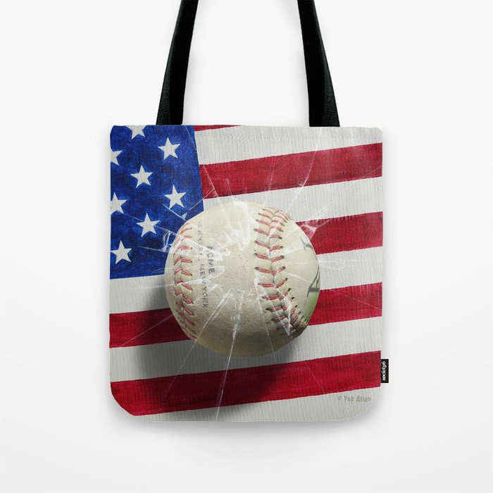 Baseball - New York, New York Tote Bag