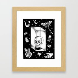 Glass Box Framed Art Print