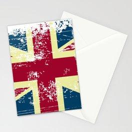 UK flag - Union Jack Rough Stationery Cards