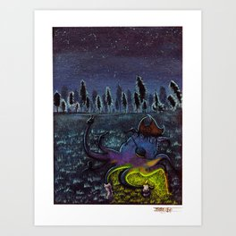 Land Lover Art Print
