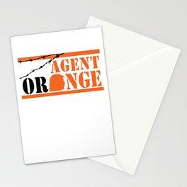 Agent Orange Stationery Cards