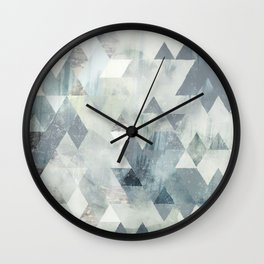 Cold Wind Wall Clock