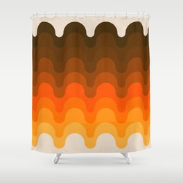 Julio - Golden Shower Curtain
