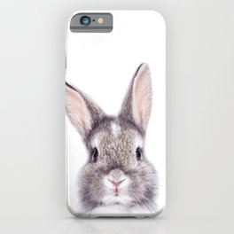 Baby Bunny, Baby Animals Art Print By Synplus iPhone Case