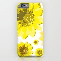Retro Sunflowers iPhone 6s Slim Case