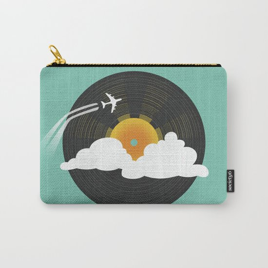 Sunburst Records Carry-All Pouch
