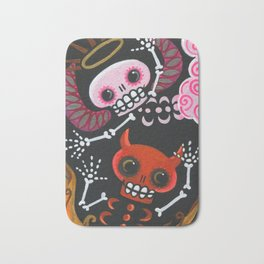 Angel & Devil Bath Mat