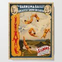 Vintage Barnum & Bailey Circus - Trapeze by yesteryears