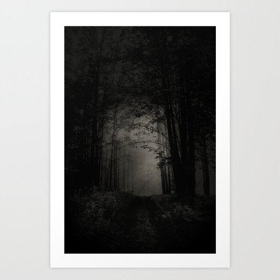 SEARCHING FOR THE LIGHT Art Print