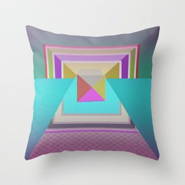 Angles in Abstract Throw Pillow