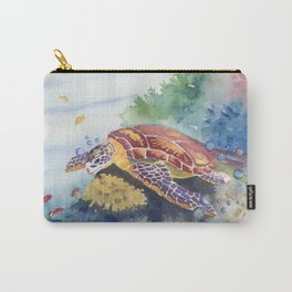 Sea Turtle and Friends Carry-All Pouch