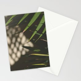 light, shadows, and leaves Stationery Cards
