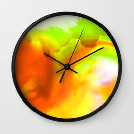 Abstract Bliss 1H by Kathy Morton Stanion Wall Clock