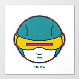 Lil' Heroes: Cyclops Canvas Print