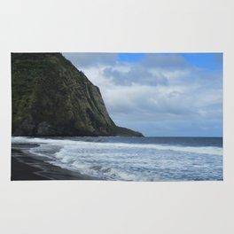 Cliffs Meet The Ocean Rug