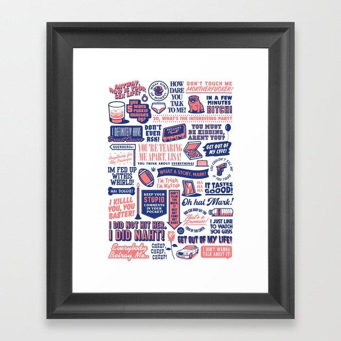 The Room Movie Poster Framed Art Print