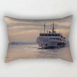 sunset in Istanbul Rectangular Pillow