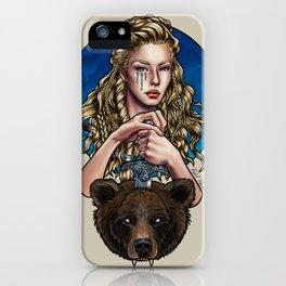 Goldilocks, Viking Bear Hunter iPhone Case