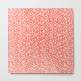 Pink Florish Metal Print
