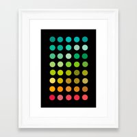 pantone Framed Art Prints featuring Pantone by lescapricesdefilles