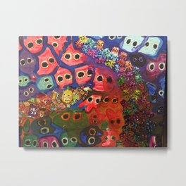 The Small Picture: AMOEBA Metal Print