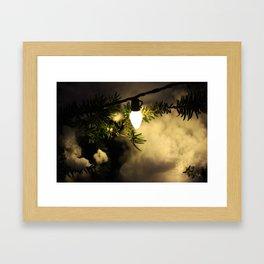 Light and Snow Framed Art Print