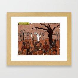 reconstruction! Framed Art Print