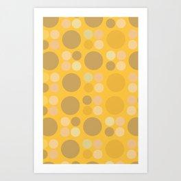 Lots o dots Art Print