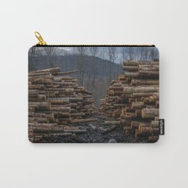 Logging in Darrington Carry-All Pouch