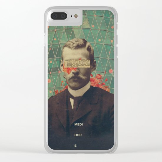 Mediocre Clear iPhone Case
