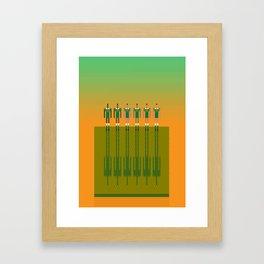 Aussie Rules  Framed Art Print