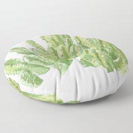 Moroccan Mound Cactus Watercolor Floor Pillow