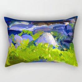 George Bellows Monhegan Island Rectangular Pillow