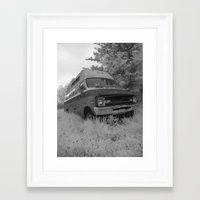 truck Framed Art Prints featuring Truck by Jean-François Dupuis