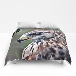 Handsome Hawk Comforters