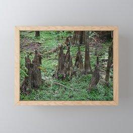 Nefarious Knees Framed Mini Art Print