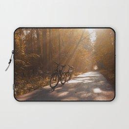 Morning Autumn Forest Laptop Sleeve