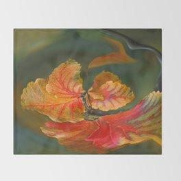 Autumn Whirl Throw Blanket