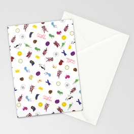 noragami pattern Stationery Cards