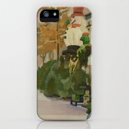 102nd broadway iPhone Case
