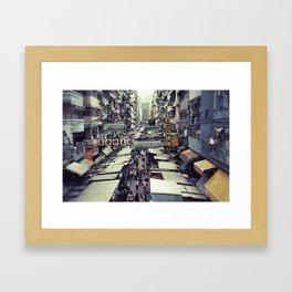 Hong Kong Street Framed Art Print
