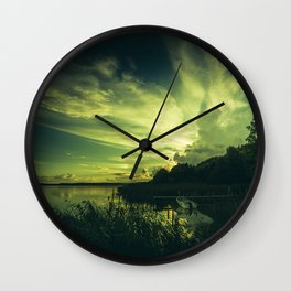 French kissing Wall Clock