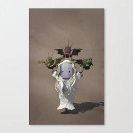 Dragon-Bot with Traffic Lights Canvas Print