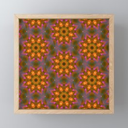 marigolds Framed Mini Art Print