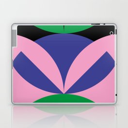 To me, it seems like an angry ninja face with leafes on it's head. Laptop & iPad Skin