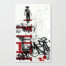 red series 3 Canvas Print