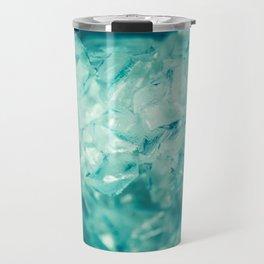 Blue Quartz Crystal Travel Mug
