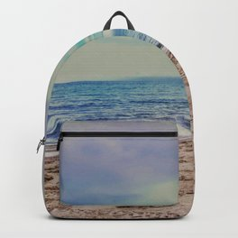 Pastel Beach Backpack